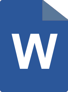 MS Word download icon